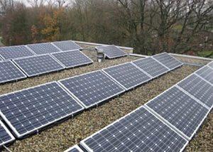 Petec Solar Geleen zonnepanelen Zuid gerichte opstelling